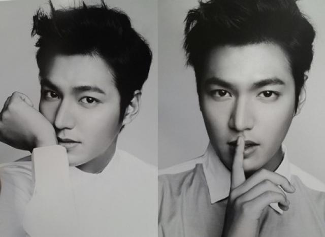Lee Min Ho Black and White