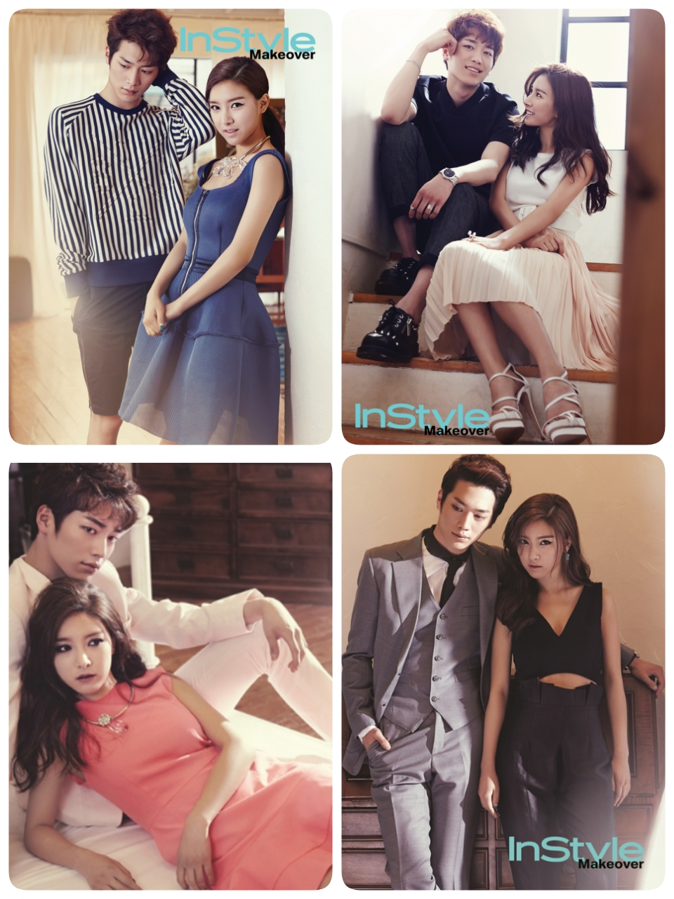 Seo Kang Joon and Kim So Eun - InStyle Magazine Ju1