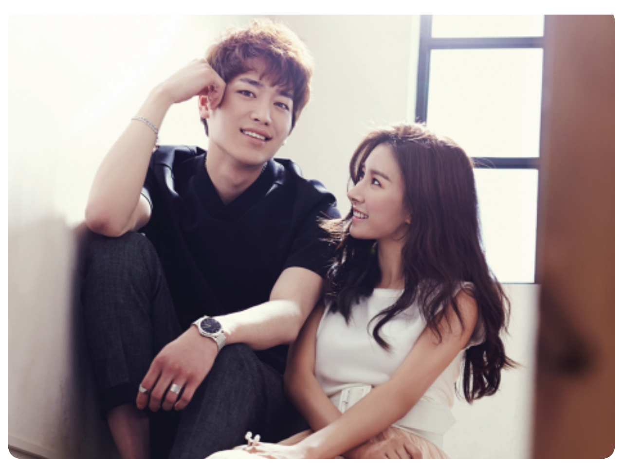 Seo Kang Joon and Kim So Eun - InStyle Magazine Ju2