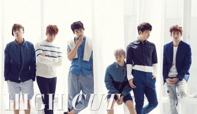 2PM - High Cut Magazine Vol (1)