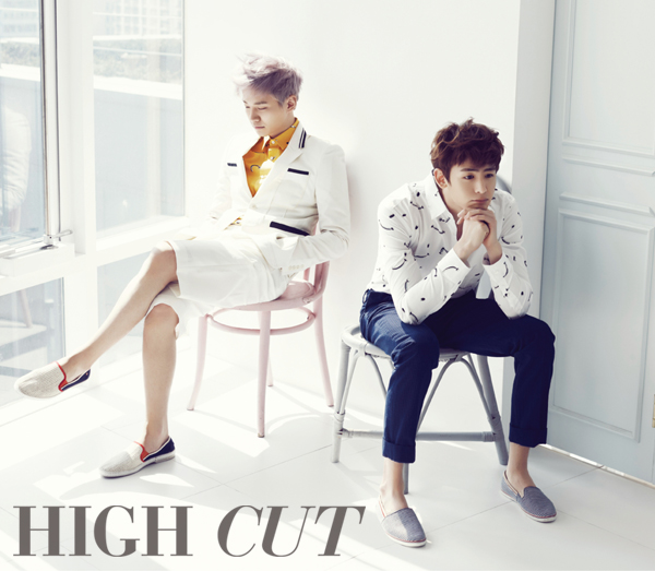 2PM - High Cut Magazine Vol (5)