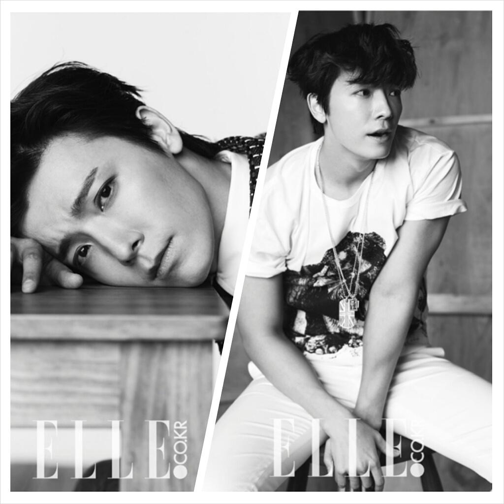 Donghae Super Junior untuk Elle
