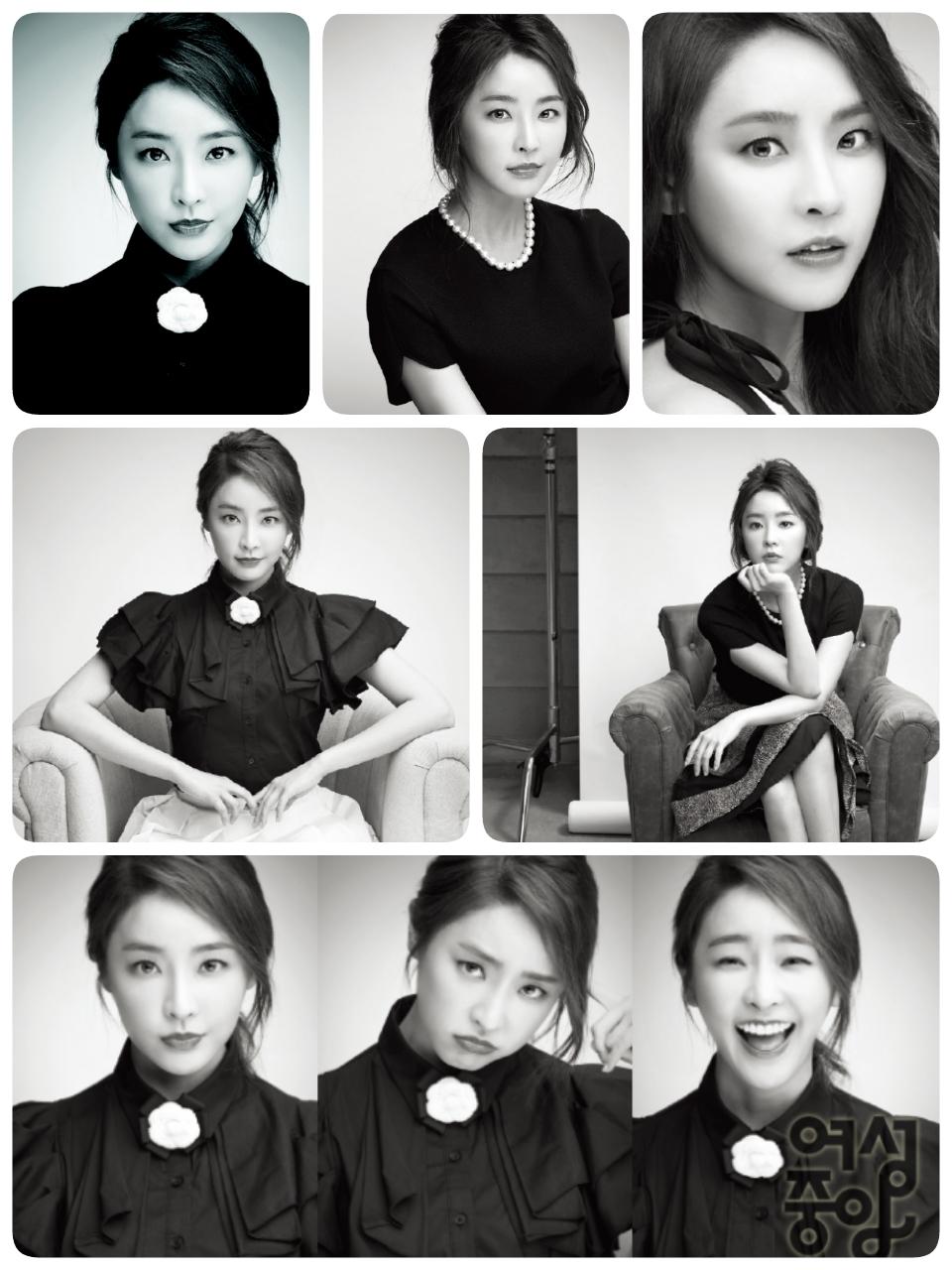 Jung Yoo Mi - Woman Chosun Magazine