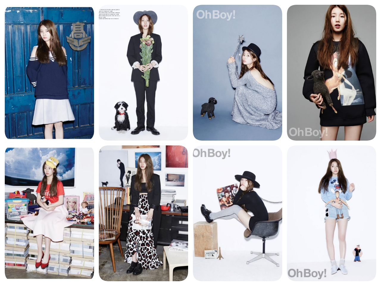 Miss A Suzy - Oh Boy! Magazine Vol.4802
