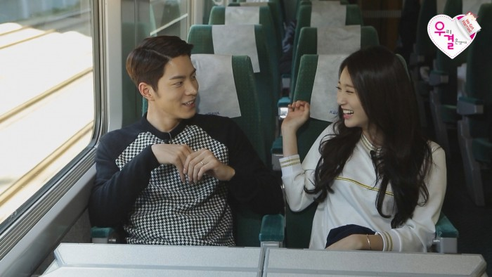 Yura and Hong Jong Hyun