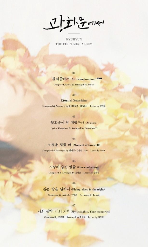 kyuhyun-tracklist