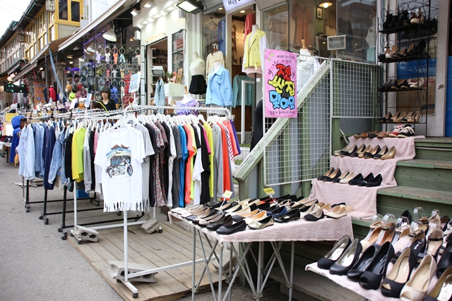 shopping in hongdae