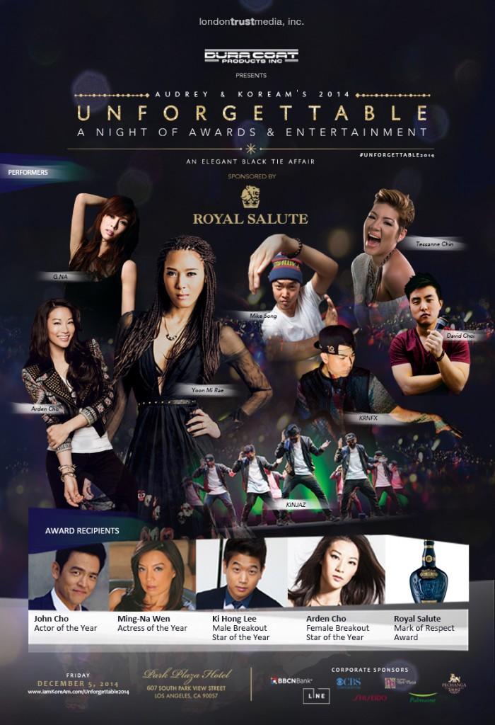 Unforgettable Gala 2014