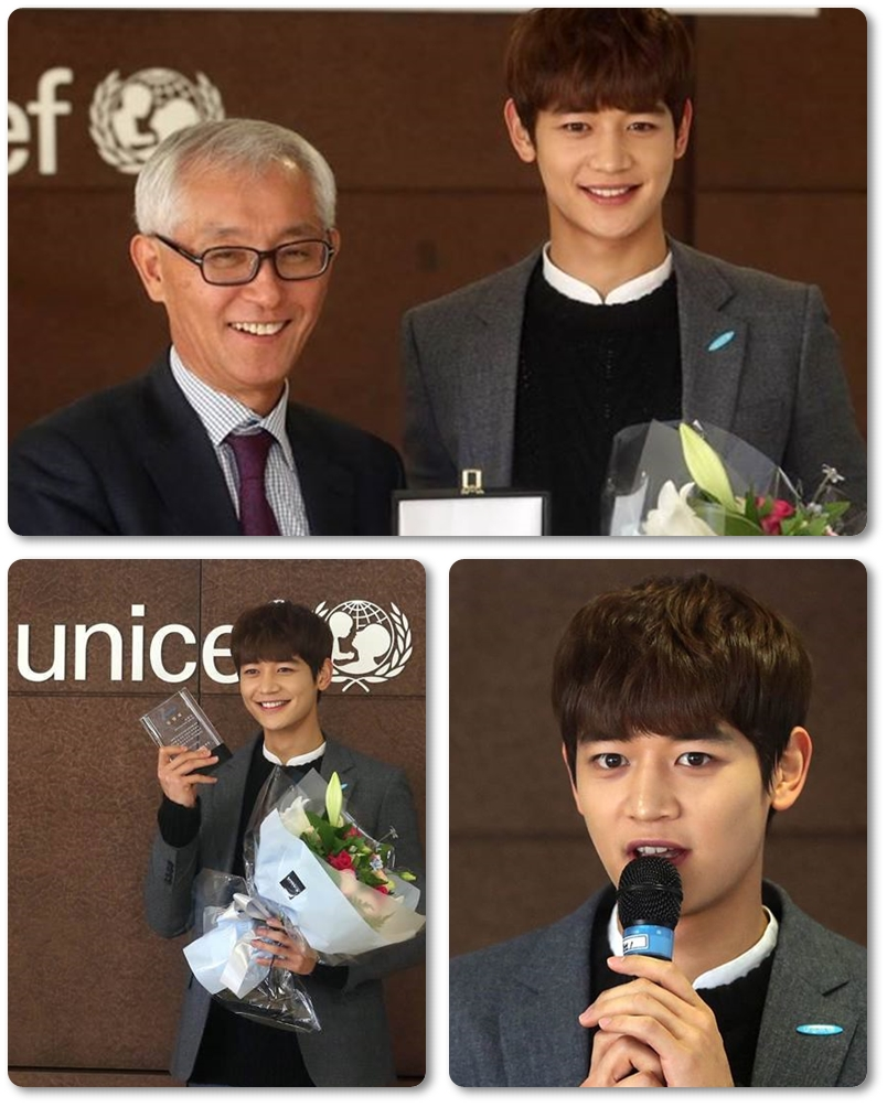 unicef with minho